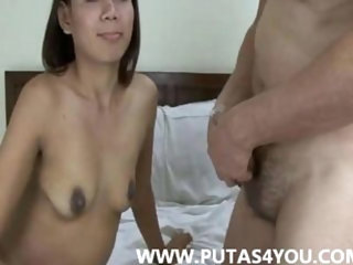 Asian Thai Amateur couple hardcore Homemade porn video hairy skynny