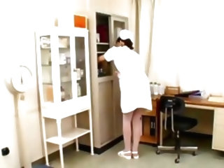 Very Hot And Sexy Asian Nurse-...