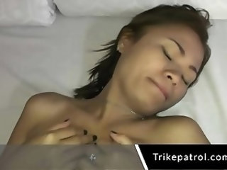Asian Filipina Sucks Cock For Money