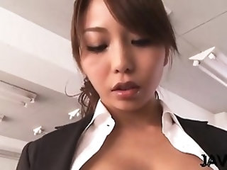 Girl on fire needs the big asian penis in her miniature vag