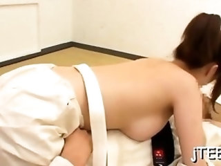 Sweet Mizuki blows penis gets ready for fuck