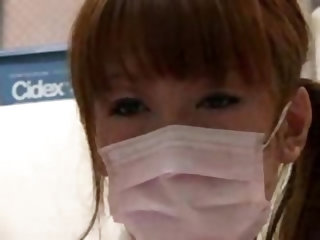 Female Japanese dentist