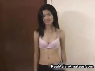 Horny amateur asian cutie stuffed part1