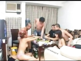 Japanese groupsex party