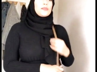 my sister sexy uk hijabi bengali paki friend hot  candid