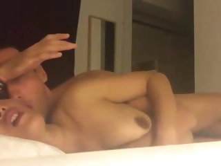 Hot Asian American Milf Pounded Hard
