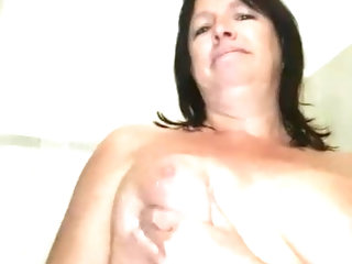 My 55 year old granny showing her pussy in shower