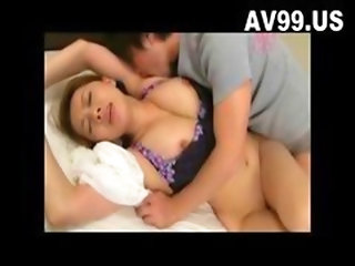 Sexy Big Tit Japanese Housewife Fucked-4