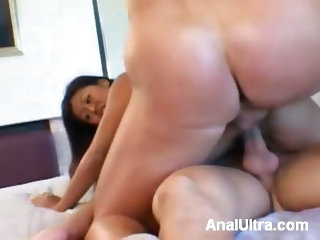 Double Penetrated Anal and Pussy
