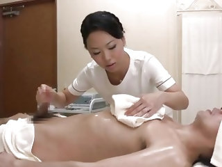 This nippon medical massage plan includes a lot of services and one of them is being rubbed by a beautiful milf. As I stayed there completely relaxed