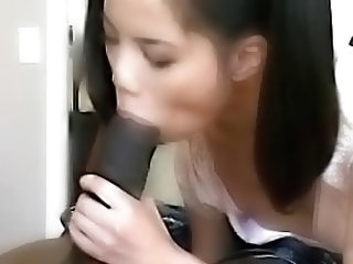 Tiny Asian Girl Fucked By Black...