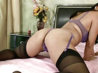 Although she's a mature whore Lucky still makes men horny with her body. This Asian bitch has a naughty ass and she wants to show us what she has