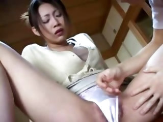 Japanese Fucking His Brothers Wife In Kitchen