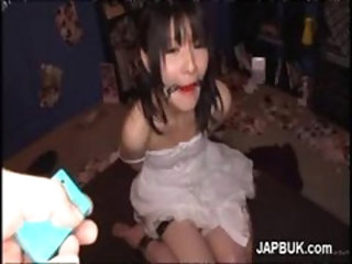 Japanese Slave Girl Gets Rimmed And Toyed In Her Pussy