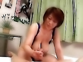 Japanese Mom And Son