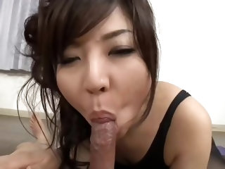 Brunette, Long Hair, Pantyhose, Big Ass, Blowjob, Masturbation, Hairy Pussy, Fingering, Nipples, Natural Tits, Big Tits, Cumshot, Facials,