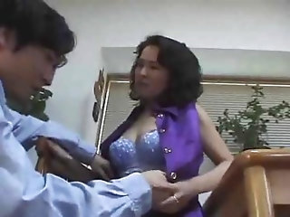 Japanese Mom Gives In