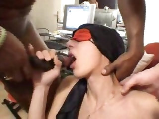 Fatimas Tight Arabian Arsehole gangbanged by Big Western French Dicks and Huge Black Sudanese Cocks