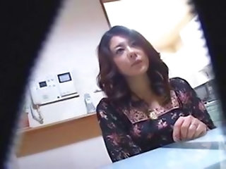 Horny Japanese Wives Massaged An...